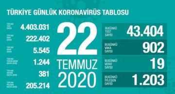 Сегодня в Турции от коронавируса умерли 19 человек