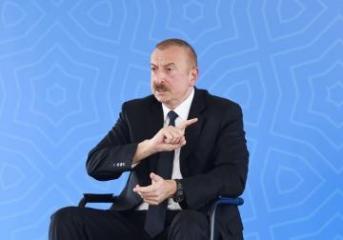 Ильхам Алиев: Мы должны решить этот вопрос так, чтобы это решение полностью устраивало азербайджанский народ