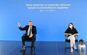 Президент Азербайджана: Фактически они хотели незаконным путем захватить власть