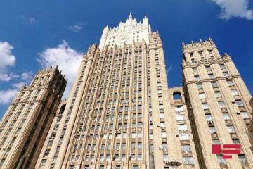 МИД РФ: Баку и Ереван выступают с инициативами по восстановлению режима прекращения огня и переговорного процесса