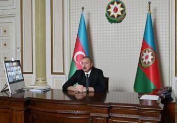 Президент Азербайджана рассказал о развитии водного хозяйства в последние годы