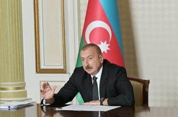 Президент Ильхам Алиев: Во многих местах есть незаконные подключения к водным линиям, и никто за это не отвечает