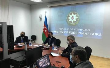 Глава МИД провел видеоконференцию с послами Азербайджана в странах, где соотечественники пострадали от действий радикальных армян