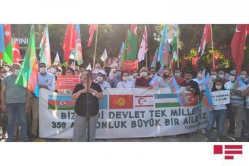 Türkiyənin Kayseri şəhərində Azərbaycana dəstək mitinqi keçirilib - [color=red]FOTOSESSİYA[/color]