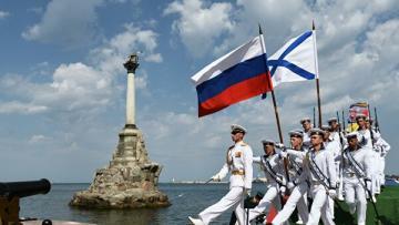МИД Украины передал ноту посольству России из-за парада в Черном море