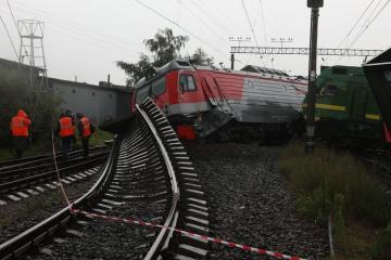 В России столкнулись 3 поезда, есть пострадавшие - [color=red]ФОТО[/color] - [color=red]ВИДЕО[/color]