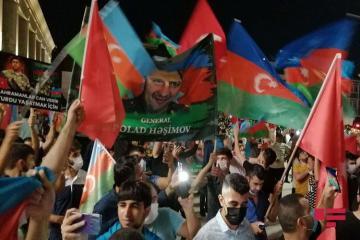 В Стамбуле прошел очередной митинг в поддержку Азербайджана - [color=red]ФОТО[/color]