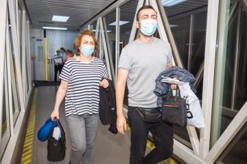 AZAL доставил из Украины в Баку 155 граждан Азербайджана - [color=red]FOTO[/color]