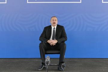 Президент Азербайджана: Первостепенным вопросом для нас являются здоровье людей, их жизнь