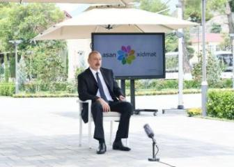 Ильхам Алиев: Я ставлю против 7 условий одно условие  – армянские вооруженные силы должны быть выведены со всех оккупированных земель