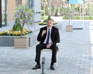 Президент Азербайджана: Сегодняшнее руководство Армении состоит из людей, находящихся под влиянием фонда Сороса