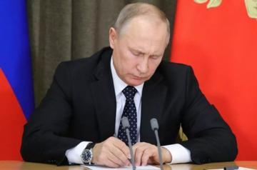 Путин подписал указ о мерах по поддержанию мира в Нагорном Карабахе