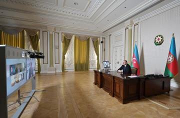 Президент Азербайджана: Южный газовый коридор очень близок к завершению, 3 проекта уже завершены