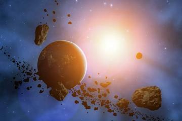 Yerə doğru təhlükəli asteroid yaxınlaşır