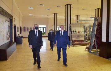 "President Ilham Aliyev attended inauguration of Tartar branch of ""Azerkhalcha"" OJSC"