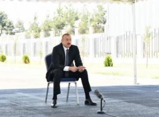 Президент Ильхам Алиев: Спортивная инфраструктура нашей страны позволяет проводить любые международные соревнования
