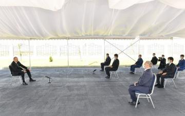 Ильхам Алиев: Фальшивые выборы, проведенные режимом хунты в Нагорном Карабахе – это своего рода шоу, клоунада