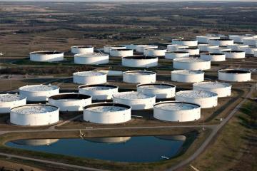 US oil reserves decrease