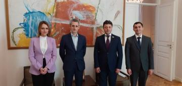 French Ambassador meets with Tural Ganjaliyev