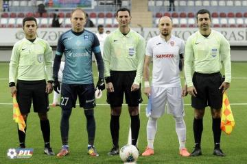 Referees to wear masks in matches in Azerbaijan