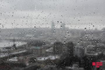Sabah yağış yağacaq, bəzi yerlərdə intensiv olacaq, güclü külək əsəcək - [color=red]PROQNOZ[/color]