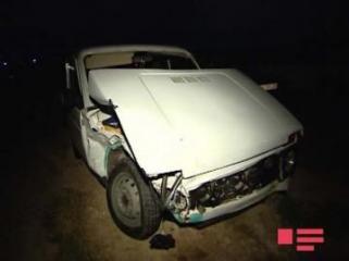В Агдаше перевернулась «Нива», погиб водитель
