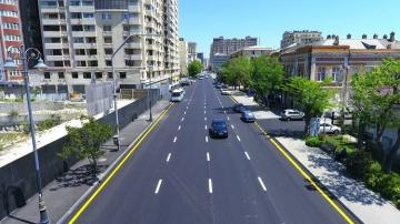 New road junction being created on Yusif Safarov street of Baku
