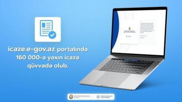 About 160,000 permits were valid on icaze.e-gov.az portal on weekend