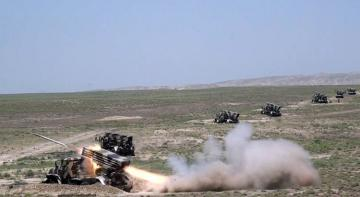 Azerbaijani MoD: Artillery units conducted live-fire exercises - [color=red]VİDEO[/color]