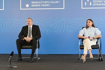 Президент Ильхам Алиев: По сравнению со многими развитыми странами спад у нас очень небольшой