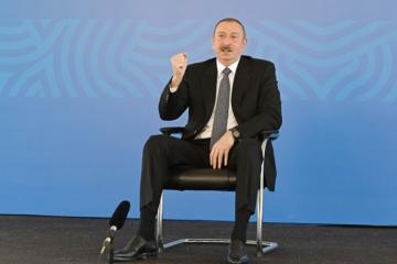 Президент Азербайджана: Мы проводим правильную, достойную политику как внутри страны, так и в международной плоскости