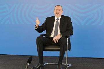 Президент: Азербайджан - одна из немногих стран в мировом масштабе, где все инфицированные коронавирусом лечатся в медицинских учреждениях