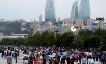 В Азербайджане 49,9% населения - мужчины, 50,1% - женщины