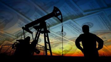 Brent crude oil price down below $38 per barrel