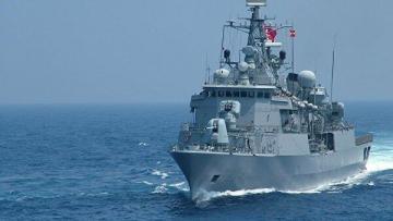 Турция провела крупные военные учения в Средиземном море