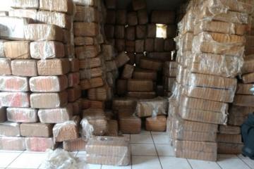 Meksikanın ABŞ-la sərhədində 4 tondan çox narkotik müsadirə edilib