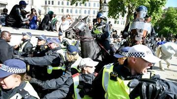 В Лондоне задержали более ста человек в ходе беспорядков