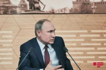 Putin ilk dəfə ABŞ-dakı iğtişaşlara münasibət bildirib