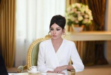 """Mehriban Əliyeva Milli Qurtuluş Günü münasibətilə """"Instagram"""" səhifəsində paylaşım edib"""