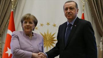 Эрдоган и Меркель обсудили ситуацию в Ливии и в Средиземноморье