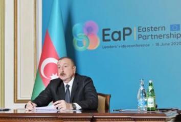 Президент Ильхам Алиев: Сотрудничество с ЕС – один из основных приоритетов внешней политики Азербайджана