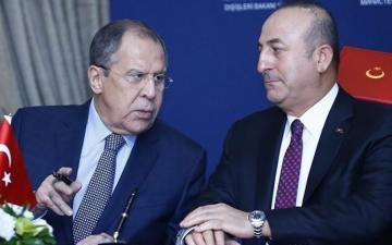 Состоялся телефонный разговор между главами МИД Турции и России