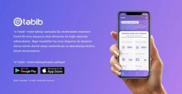 """""""E-Təbib"""" mobil tətbiqi koronavirusun yayılmasını azaltmağa kömək edir"""