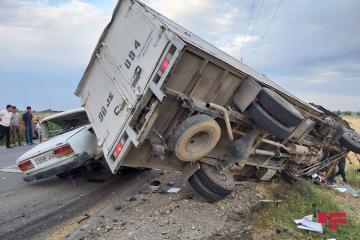 В Тертере «ВАЗ 2107» столкнулся с грузовиком, есть погибший и раненые - [color=red]ФОТО[/color]