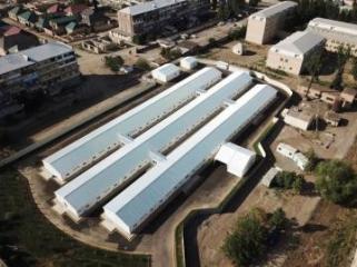 В Гяндже открылась больница модульного типа - [color=red]YENİLƏNİB[/color] - [color=red]FOTO[/color]