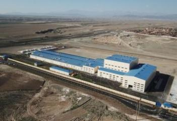 President Ilham Aliyev inaugurated construction materials manufacturing plant in Ganja