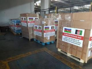 Azerbaijan sends humanitarian aid to Afghanistan regarding fight against COVID-19