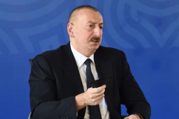 Президент Ильхам Алиев: Ни один социальный проект не сокращен