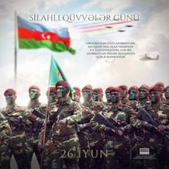 Президент Азербайджана распространил публикацию по случаю Дня Вооруженных сил