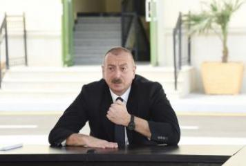 Президент: Этот конфликт – горькое наследие власти Народного фронта Азербайджана